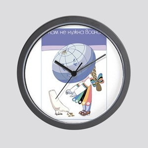 Global Girl Wall Clock