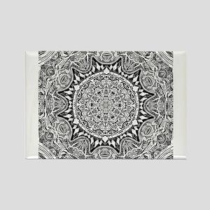 Mandala Pattern Magnets