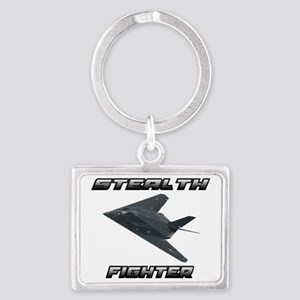 Stealth Fighter Landscape Keychain