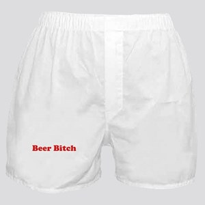 Beer Bitch Boxer Shorts