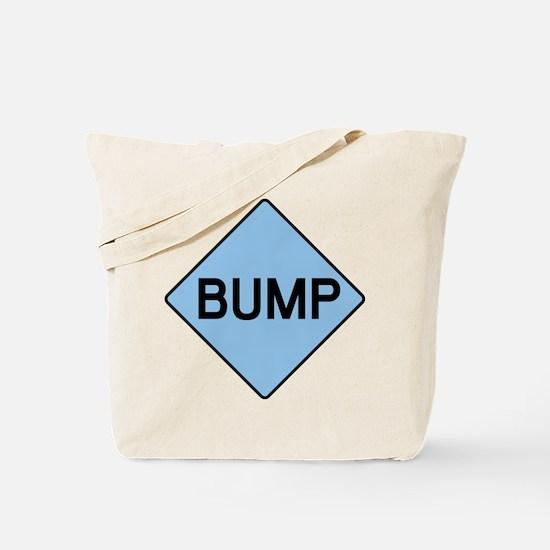 BABY BUMP (BLUE) Tote Bag