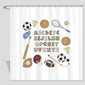 Soccer Baby Shower Curtains