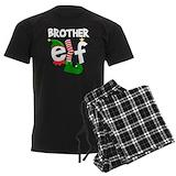 Christmas elf Men's Dark Pajamas