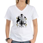 Fletcher Family Crest Women's V-Neck T-Shirt