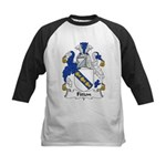 Fitton Family Crest Kids Baseball Jersey