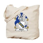 Fitton Family Crest Tote Bag