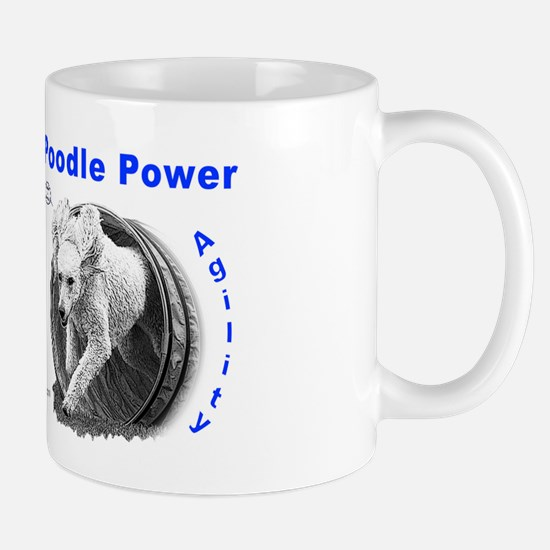 Poodle Power Agility Mug