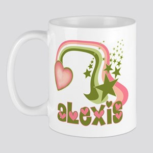 Rainbows & Stars Alexis Personalized Mug
