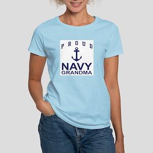 Proud Navy Grandma Women's Light T-Shirt
