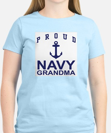 Proud Navy Grandma Women's Light T-Shirt