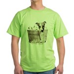 JRT Humor - JACKUZZI Green T-Shirt