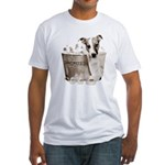 JRT Humor - JACKUZZI Fitted T-Shirt