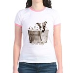 JRT Humor - JACKUZZI Jr. Ringer T-Shirt