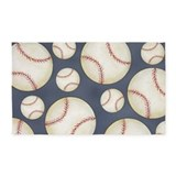Baseball 3x5 Rugs