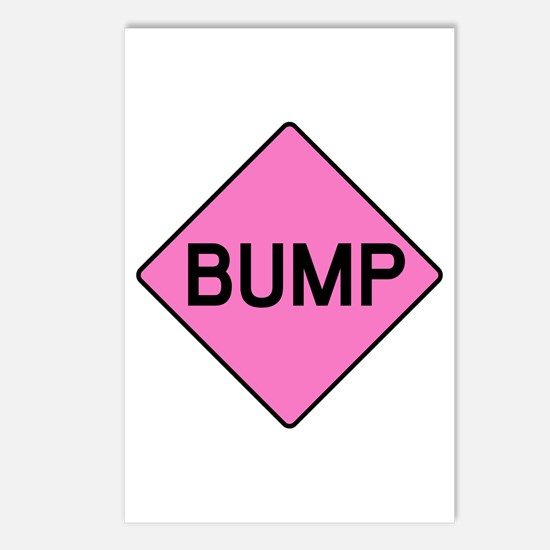 BABY BUMP (PINK) Postcards (Package of 8)
