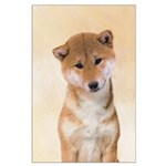 Shiba Inu (Red) Large Poster