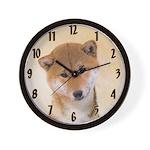 Shiba Inu (Red) Wall Clock