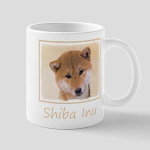 Shiba Inu (Red) 11 oz Ceramic Mug