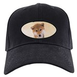 Shiba Inu (Red) Black Cap with Patch
