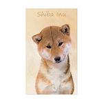 Shiba Inu (Red) Sticker (Rectangle 50 pk)