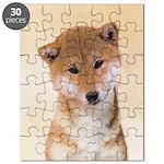 Shiba Inu (Red) Puzzle