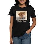 Shiba Inu (Red) Women's Dark T-Shirt