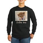Shiba Inu (Red) Long Sleeve Dark T-Shirt