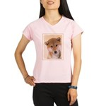 Shiba Inu (Red) Performance Dry T-Shirt