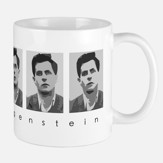 Wittgensteins (in B&W) Mug