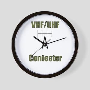 VHF/UHF Contester Wall Clock