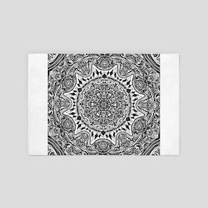 Mandala 4' x 6' Rug