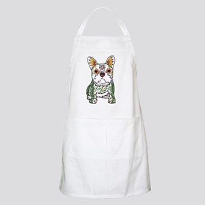 Sugar Skull Frenchie Apron