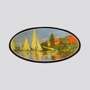Claude Monet Regatta at Argenteuil Patch