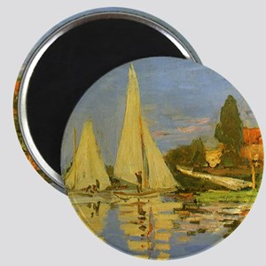 Claude Monet Regatta at Argenteuil Magnets