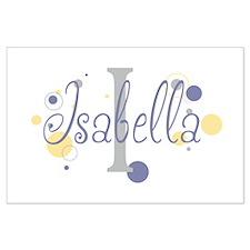 Isabella Large Poster