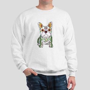Sugar Skull Frenchie Sweatshirt