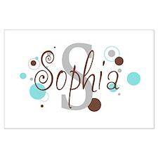 Sophia Large Poster
