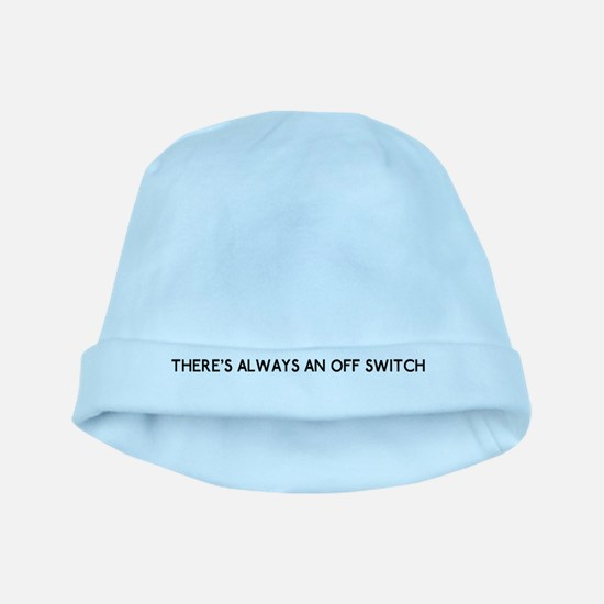 license plate bottom off switch copy baby hat