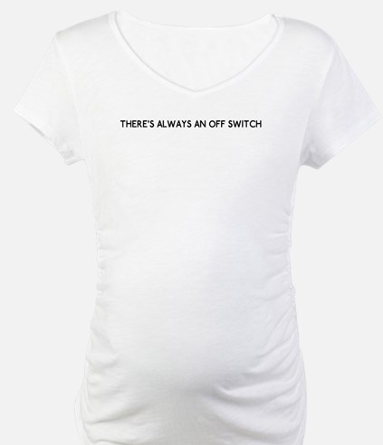 license plate bottom off switch Shirt