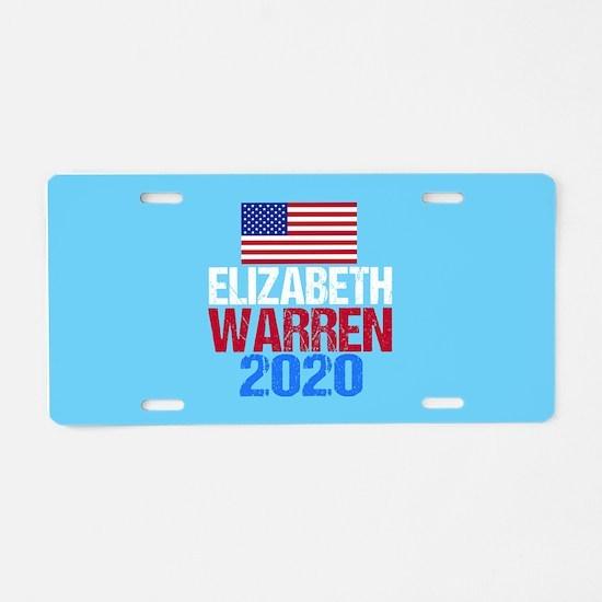 Warren 2020 Aluminum License Plate