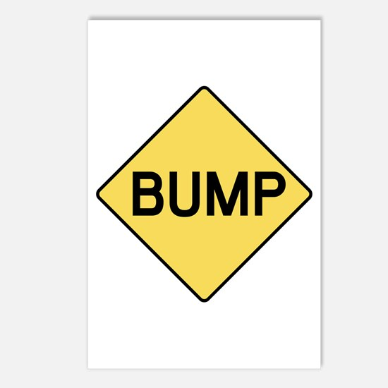 BABY BUMP (YELLOW) Postcards (Package of 8)