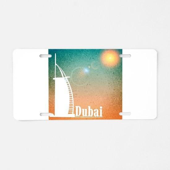 Dubai Aluminum License Plate