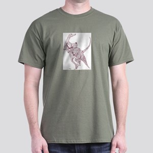 Doomed Conflict Sepia Dark T-Shirt
