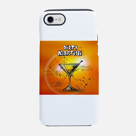 Dirty Martini (Orange) iPhone 7 Tough Case