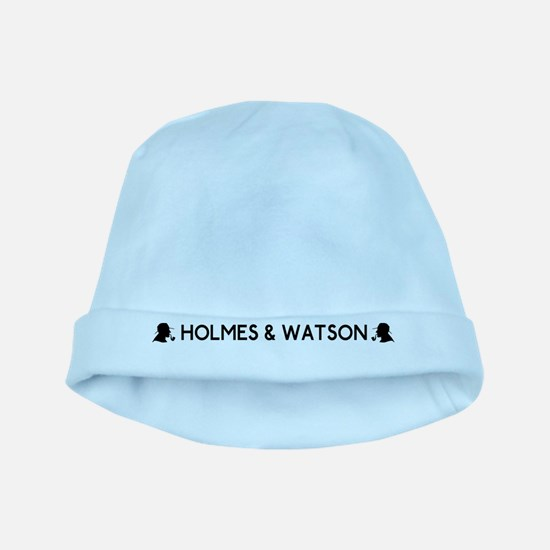 Holmes and Watson baby hat