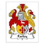 Farley Family Crest Small Poster
