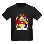 Farley Family Crest Kids Dark T-Shirt