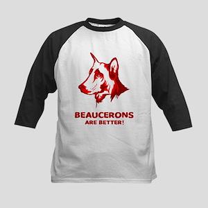 Beauceron Kids Baseball Jersey