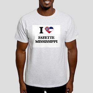 I love Fayette Mississippi T-Shirt