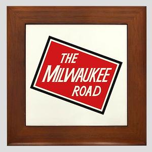 Milwaukee Road 2 Framed Tile